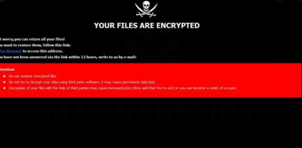 Menghapus .crypt (Amnesia) ransomware
