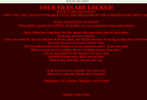 Remove .sarbloh Files Ransomware