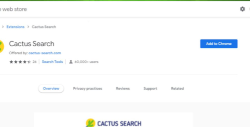 Poistaa Cactus Search virus