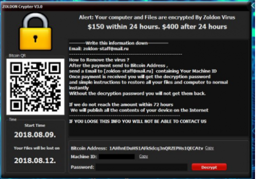 Remove Crypter ransomware