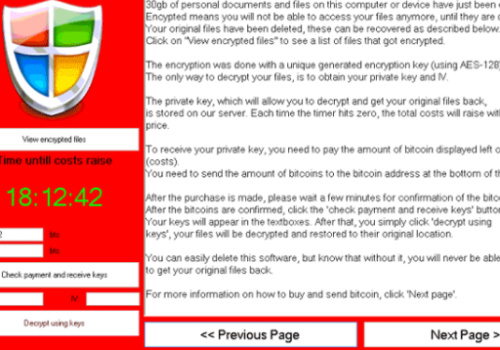 Verwijderen Cryptographic Locker