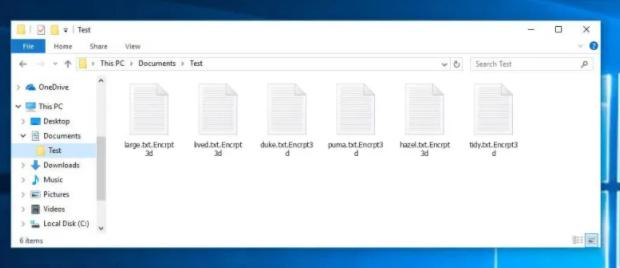 Encrpt3d ransomware