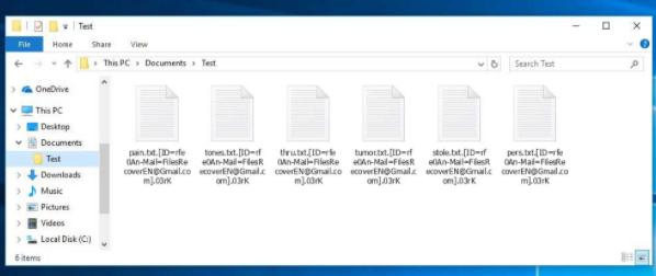 FilesRecoverEN ransomware