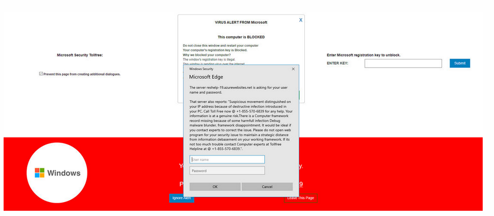 Entfernen Firewall Spyware Alert pop-up scam