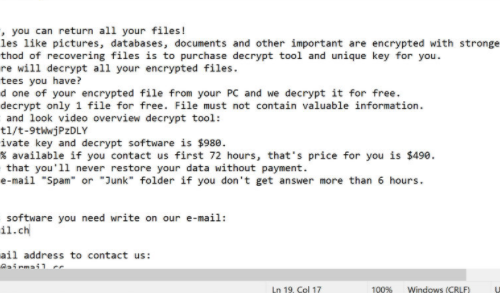 Lmas ransomware eliminación