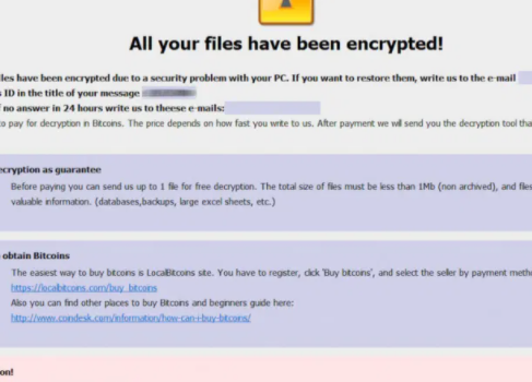Verwijderen Lookfornewitguy ransomware