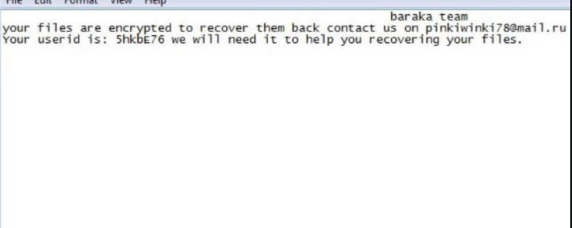 MailRU ransomware