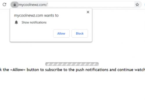 Eltávolít Mycoolnewz.com Ads