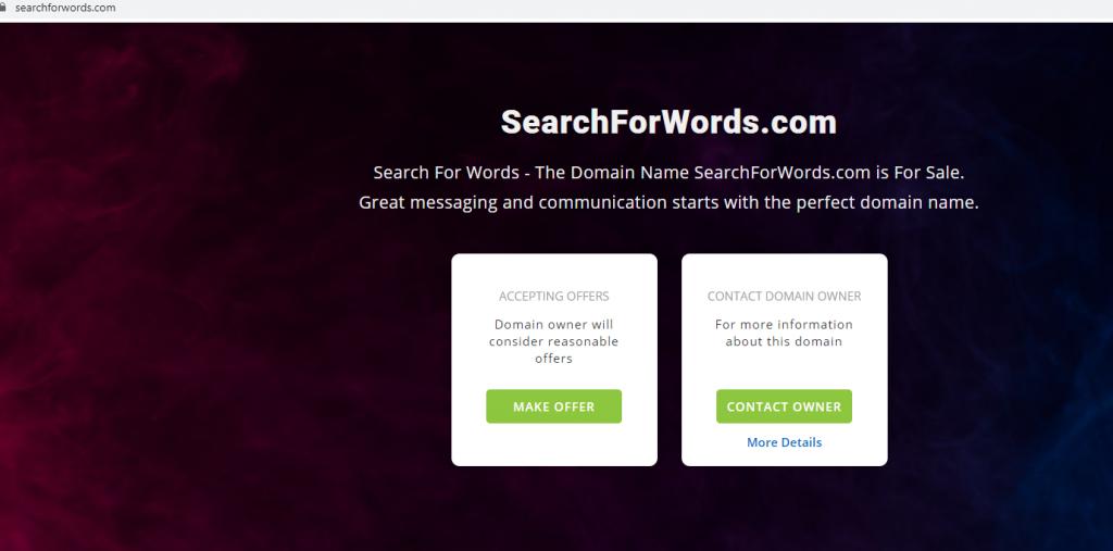 SearchForWords
