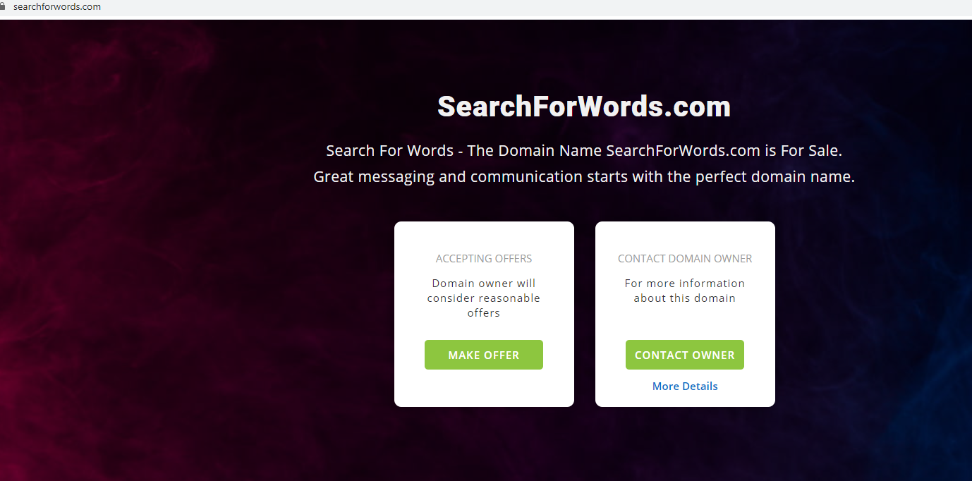 Fjerne SearchForWords