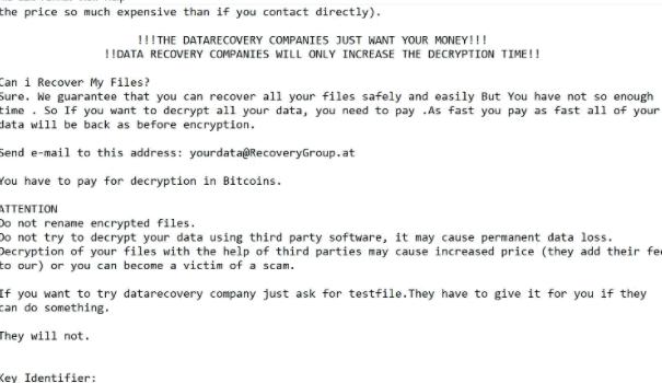 Enlever Zuadr ransomware