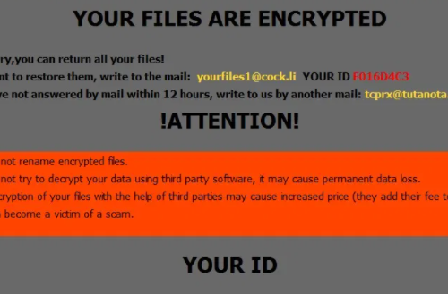 Remove .cum Files Ransomware