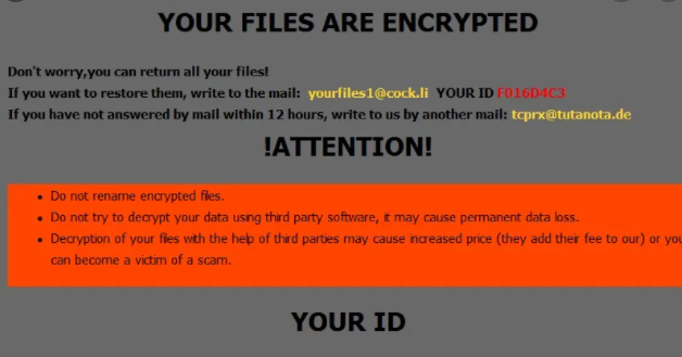 cum Files Ransomware