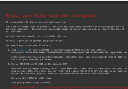 Remove .ielock Files Ransomware