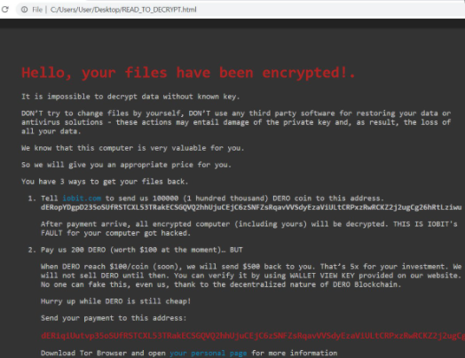 ielock Files Ransomware