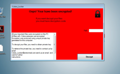 CobraLocker Ransomware