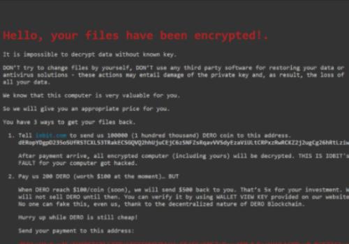 Remove Ielock ransomware