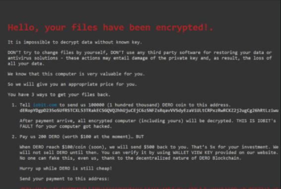 Entfernen Ielock ransomware