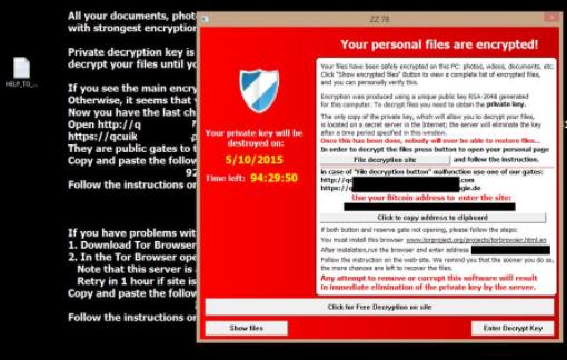 Avlägsna LegionLocker 3.0 Ransomware virus