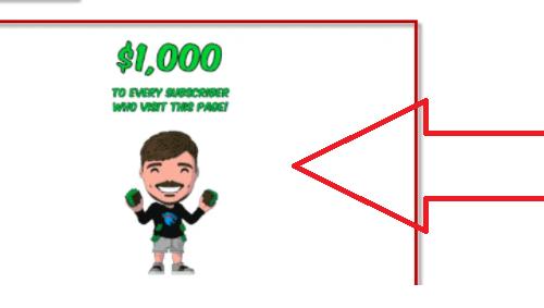 Fjerne Mr Beast Giveaway POP-UP Scam