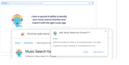 Music Search for Chrome