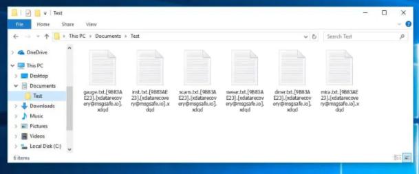 Xdqd ransomware