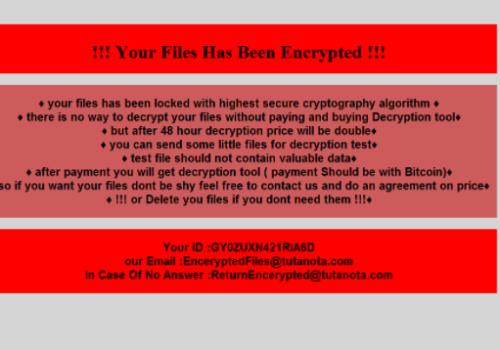 Remove Chaos Ransomware