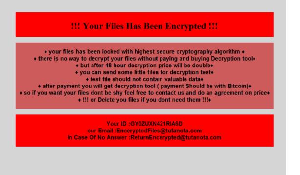 Usunąć Chaos Ransomware