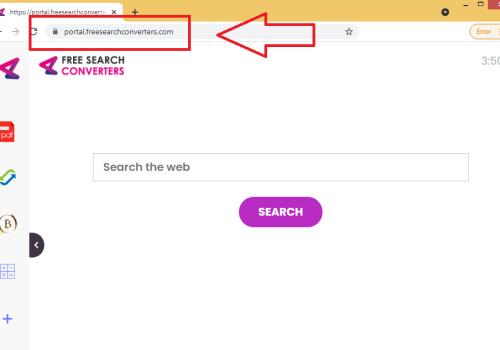 FreeSearchConverters fjernelse