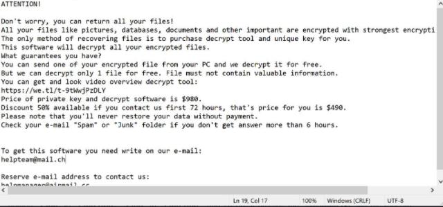 Virus Pahd (ransomware) – Cómo descifrar .Pahd archivos
