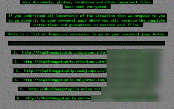 Kaldırmak .Poker Files Ransomware