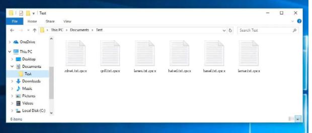 Eliminar Qscx ransomware