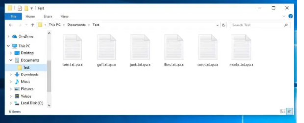 QSCX Ransomware fjernelse