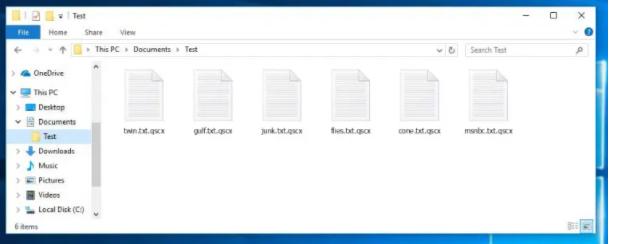 Qscx virus (ransomware). Sådan dekrypteres . Qscx-filer. Vejledning til gendannelse af Qscx-filer.