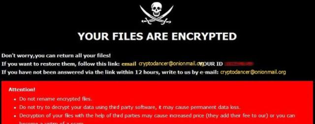 Verwijderen Dance ransomware