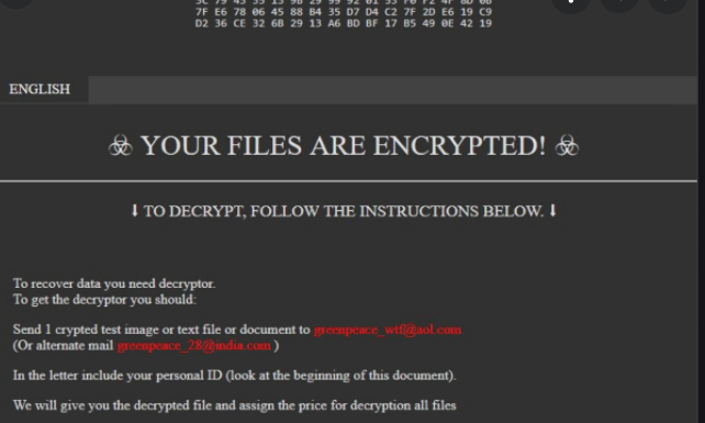 F1 ransomware