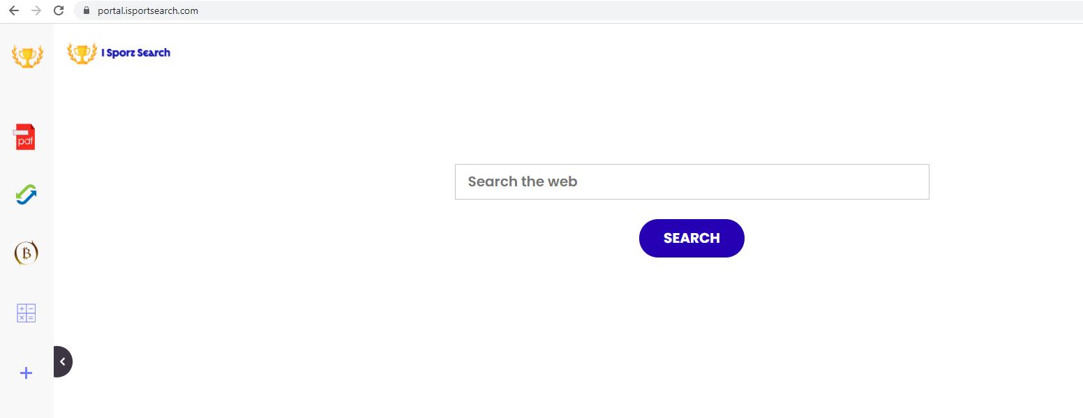 Verwijderen ISportSearch