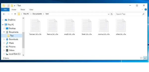 Zzla virus ransomware virus