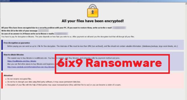 6ix9 Ransomware