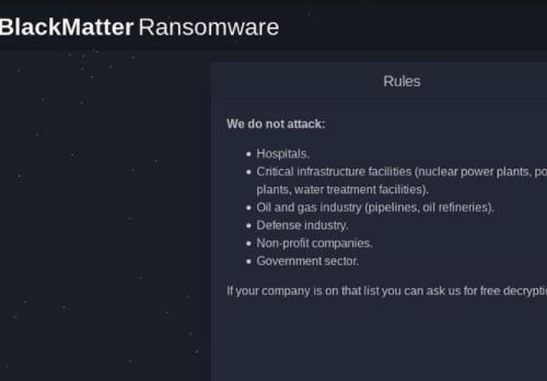 BlackMatter ransomware – Nasıl kaldırılır