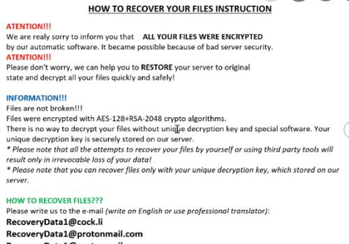 CHRB ransomware – Jak usunąć