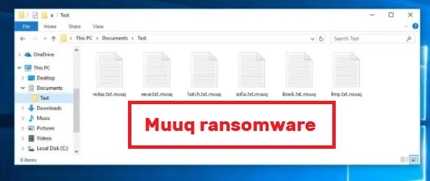 Odstranit Muuq ransomware