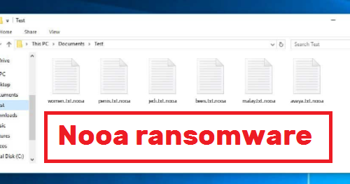 Nooa ransomware Kaldırma