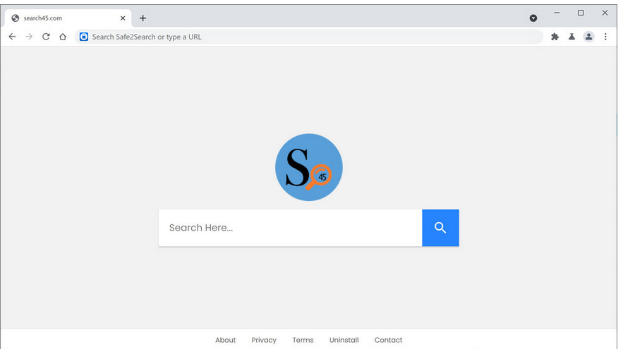 Fjerne Search45 browser redirect