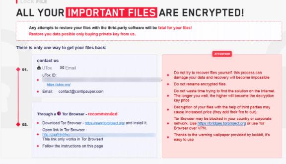 lockfile Files Ransomware