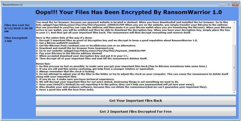 Cracker Ransomware