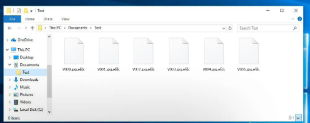 EFDC ransomware