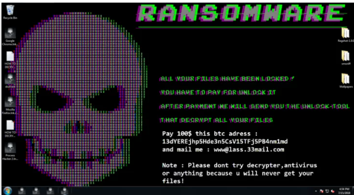 Evolution Ransomware