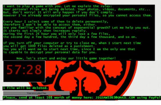 HYDRA file virus