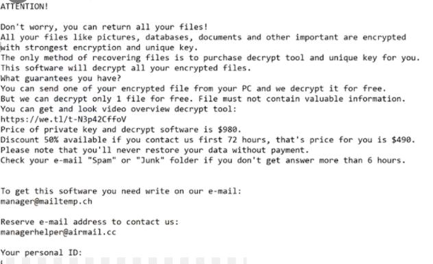 Lqqw Virus and Decrypt